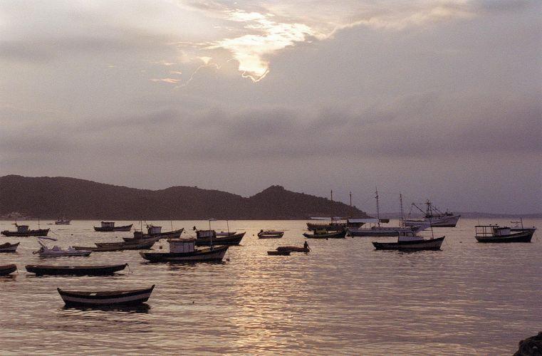 Pôr-do-sol em Búzio