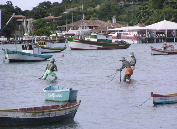 Esculturas dos pescadores