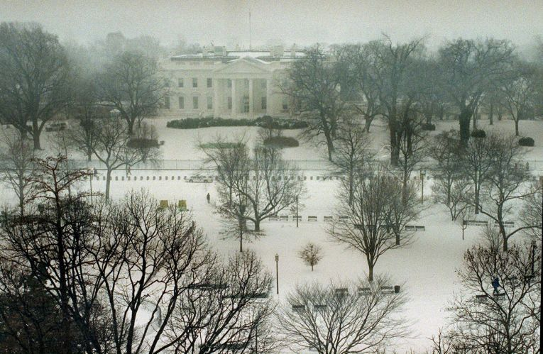 Neve na Casa Branca