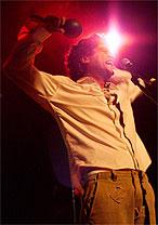 Lirinha, vocalista do Cordel do Fogo Encantado, que se apresenta dia 21 de julho, em Ouro Preto