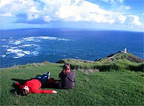 Cape Reinga, um dos últimos pedaços de terra da Nova Zelândia