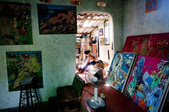 Galerias De Arte. um enclave para artistas