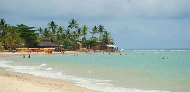Praia do Mutá é uma das mais belas de Porto Seguro, na Bahia. O destino está entre os dez mais procurados pelos brasileiros, de acordo com pesquisa da CVC