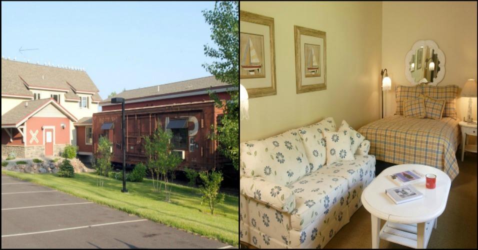 Northern Rail Traincar Suites