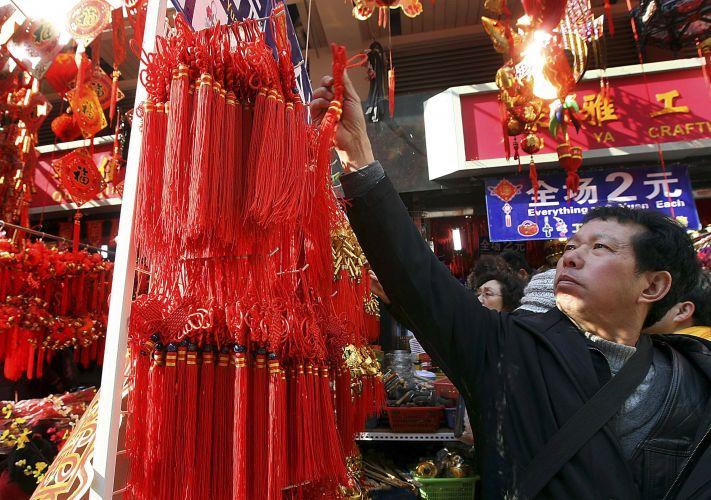 Decoração em Xangai