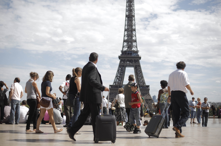 Queda em turismo