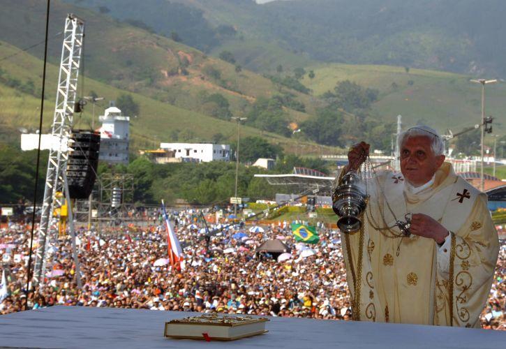 Visita papa Bento 16