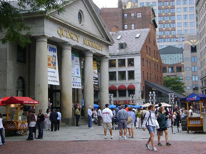 Quincy Market Colonnade
