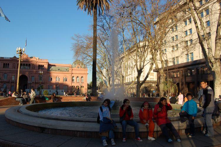 Chafariz da Plaza de Mayo