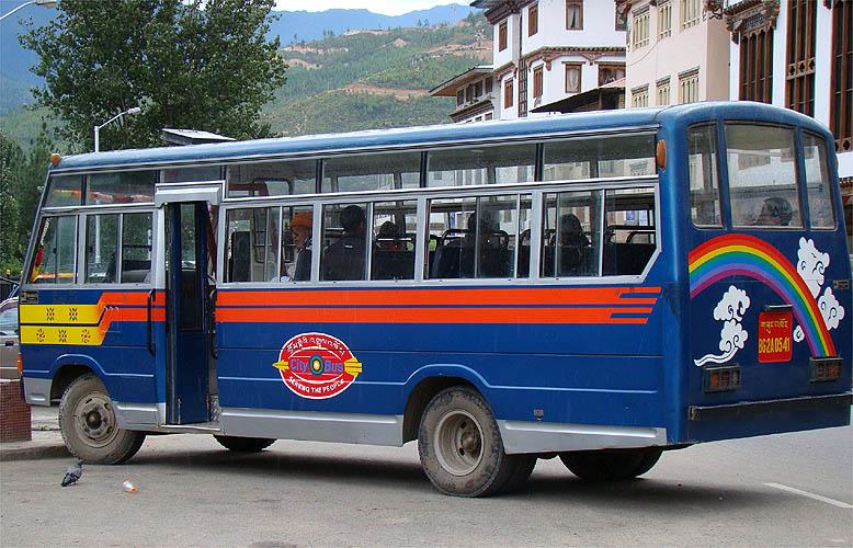 Ônibus de Thimphu