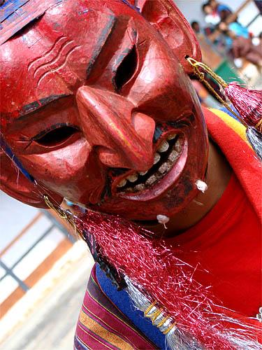 Máscara do deus Atshara