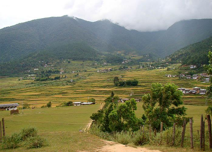 Vilarejo de Punakha