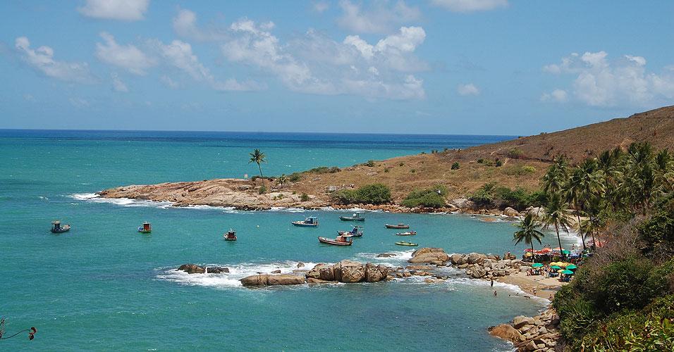 Praia Calhetas
