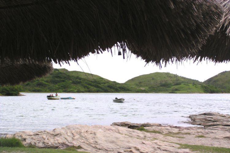Quiosque na praia