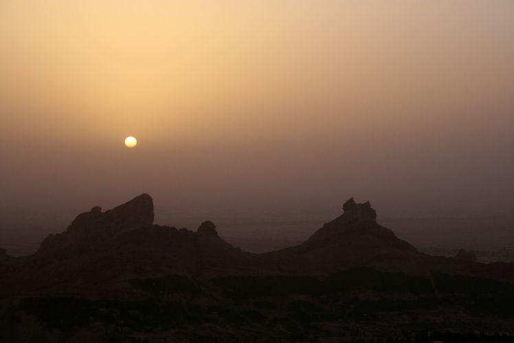 Montanha Jebel Hafeet