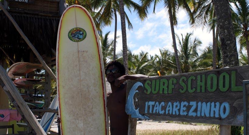 Aulas de surfe