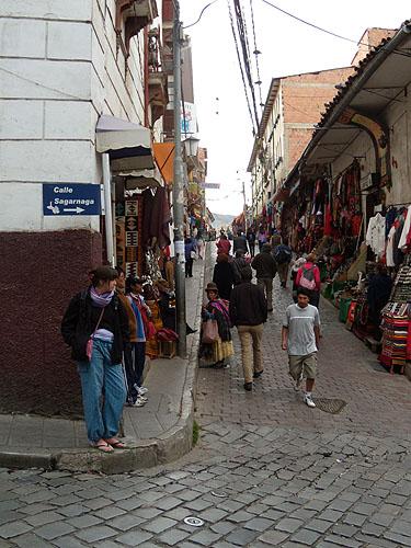 Calle Sagárnaga