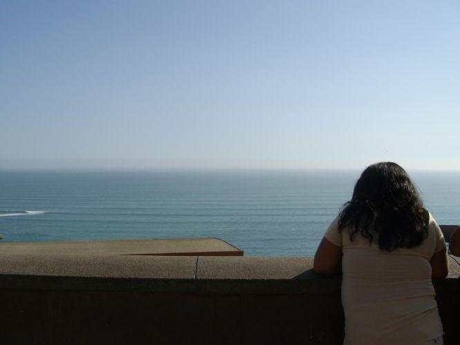 Vista da orla de Miraflores