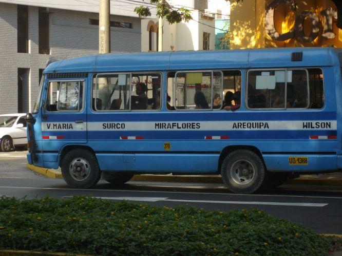Ônibus em Miraflores