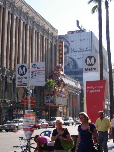Rua de Hollywood