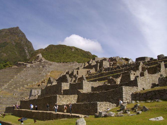 Gigantes blocos de pedra