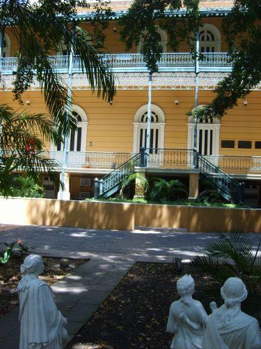 Jardins do Palácio Rio Negro