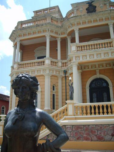 Fachada do Palácio Rio Negro