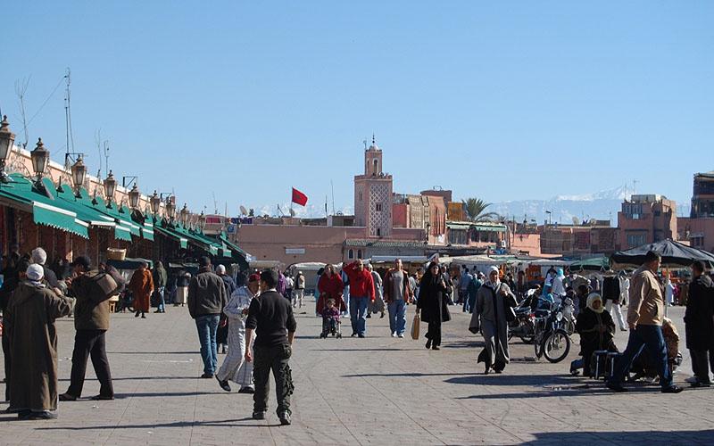 Praça Djemaa El-Fna