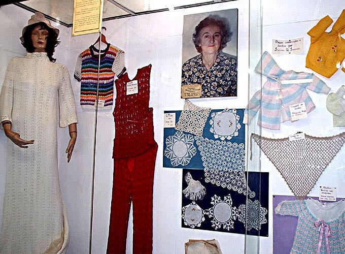 Peças de tricô