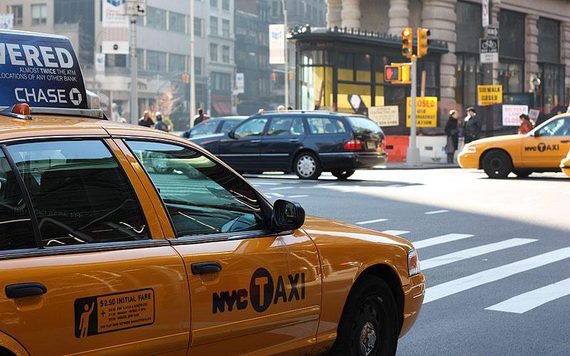 Táxis amarelos