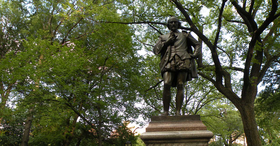 Estátua de Shakespeare