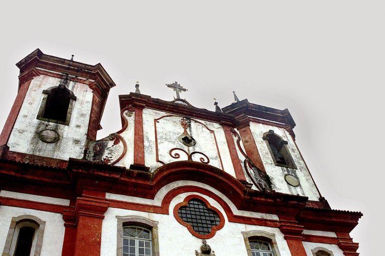 Igreja que guarda o túmulo de Aleijadinho