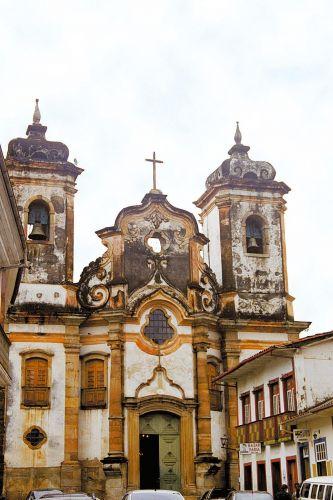 Igreja ornamentada com cerca de 400 kg de ouro