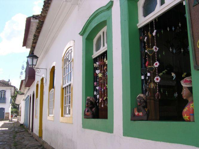 Artesanato no centro histórico