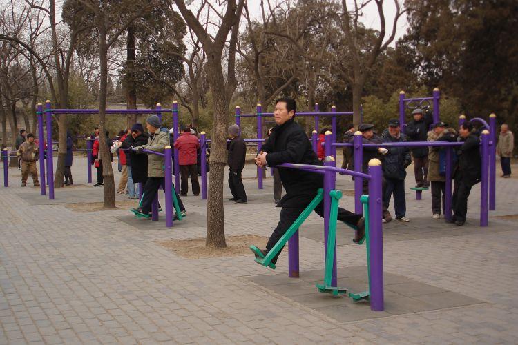 Exercício no parque