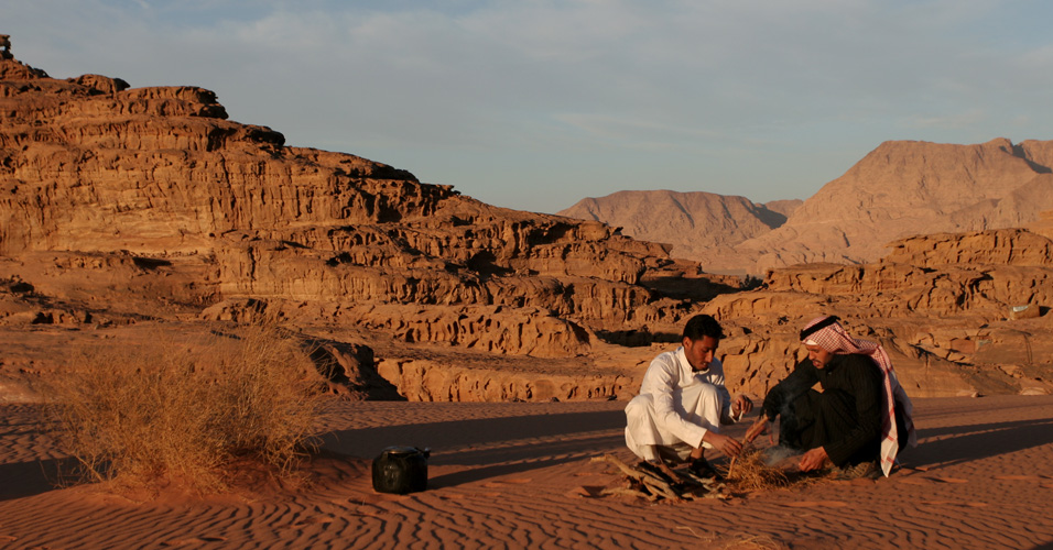 Deserto de Wadi Rum