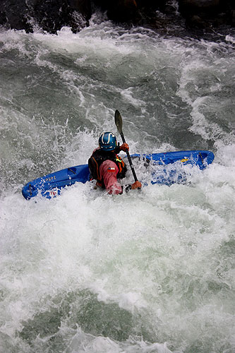 Rafting em Saltos de Marimán
