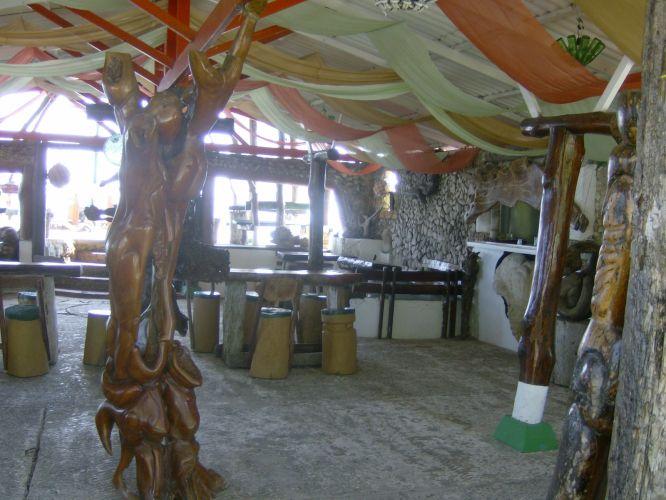 Obras de arte em madeira