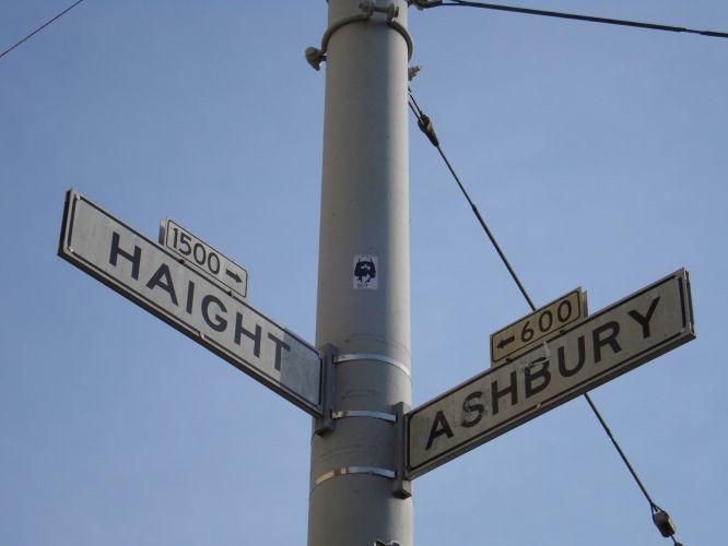 Ruas Haight e Ashbury