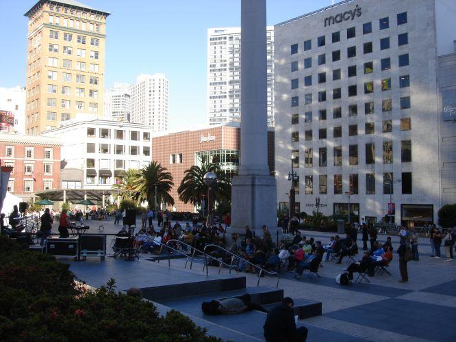 Música na Union Square