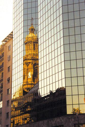 Catedral refletida