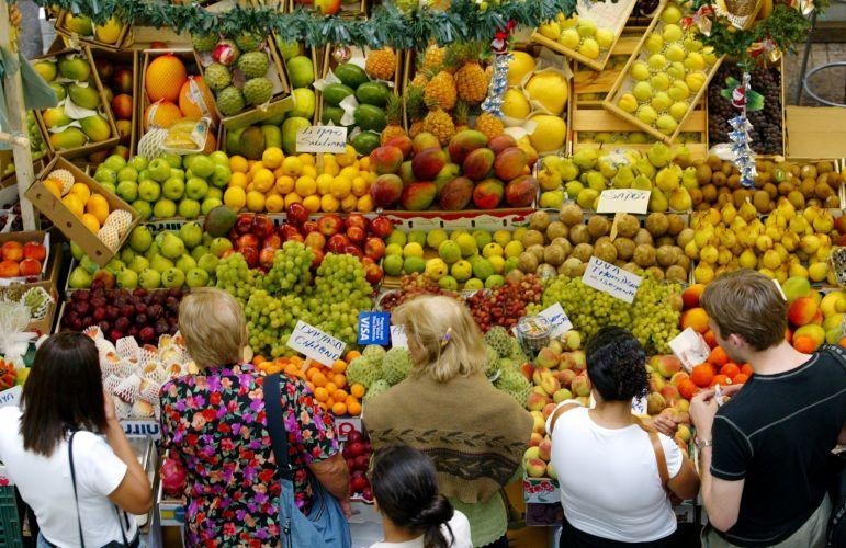 Frutas no Mercadão