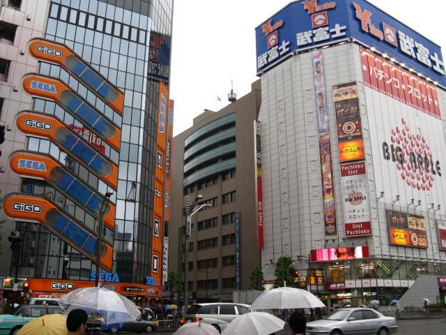 Paraíso dos jogos em Akihabara