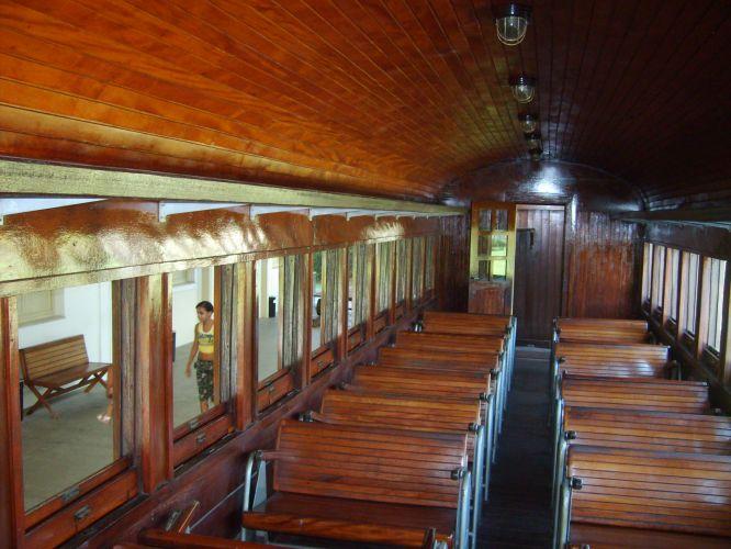 Locomotiva a vapor no Museu do Vale