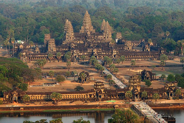 Angkor, Siem Reap, Camboja
