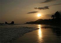 Sunzal, em El Salvador, tem pôr do sol imperdível