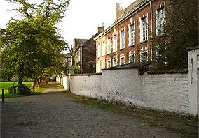 Klein Begijnhof (Pequeno Beguinário), em Gent