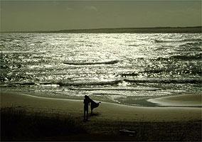 Praia de Cabo Polônio, no Uruguai