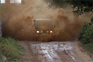 Trilha no sexto dia da Expedição Brasil Melhor 2008