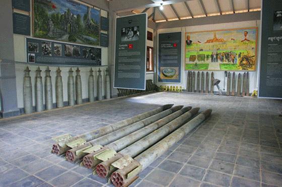 Divulgação/Cambodia Landmine Museum